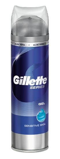 Billede af Til Barbering - Gillette Series Gel Sensitive - Nænsom Gel