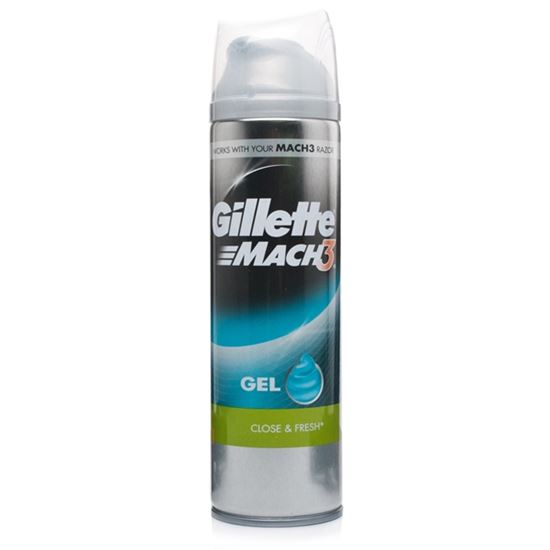Billede af Gillette Mach3 Shave Gel Close & Fresh - 200ml - Gel