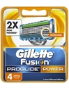 Billig Gillette Fusion ProGlide Power Barberblade (4 stk)