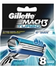 Billig Gillette Mach3 Turbo Barberblade - 8 stk. - Mach 3